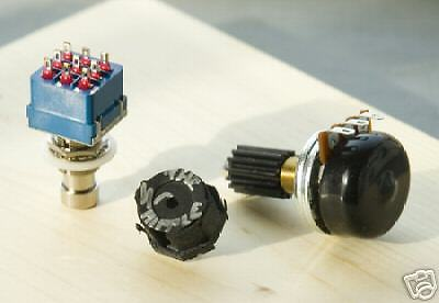 Complete Wah Wah Upgrade Kit Whipple Inductor ICAR POT fits